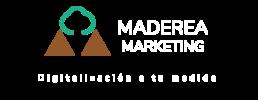 Logo maderea marketing blanco2