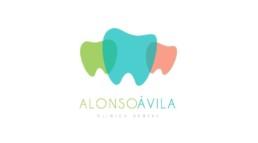 Logo clinica dental Alonso Ávila