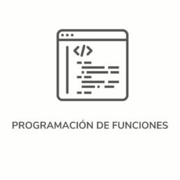 PROGRAMAMCION DE FUNCIONES